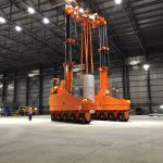 J&R Engineering LIFT-N-LOCK® Vertical Cask Transporter - 35
