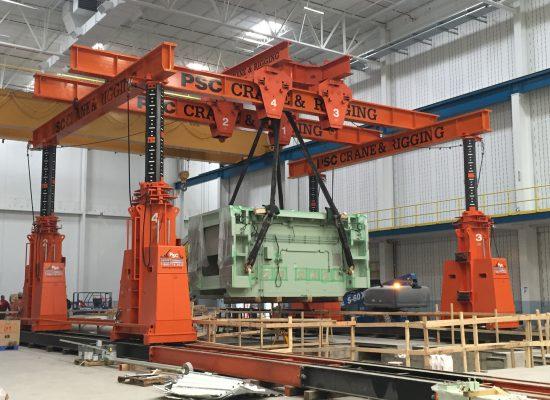 J&R Engineering LIFT-N-LOCK® Hydraulic BOOM Gantry - 1400 Series