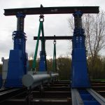 J&R Engineering LIFT-N-LOCK® Hydraulic Gantry - Static Beam Test