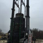 J&R Engineering LIFT-N-LOCK® Transporter - Vertical Cask Transporter Load Test - 4