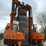 J&R Engineering LIFT-N-LOCK® Transporter - Vertical Cask Transporter Load Test