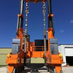J&R Engineering LIFT-N-LOCK® Transporter - Vertical Cask Transporter Static Load Test - 1