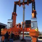 J&R Engineering LIFT-N-LOCK® Transporter - Vertical Cask Transporter Static Load Test