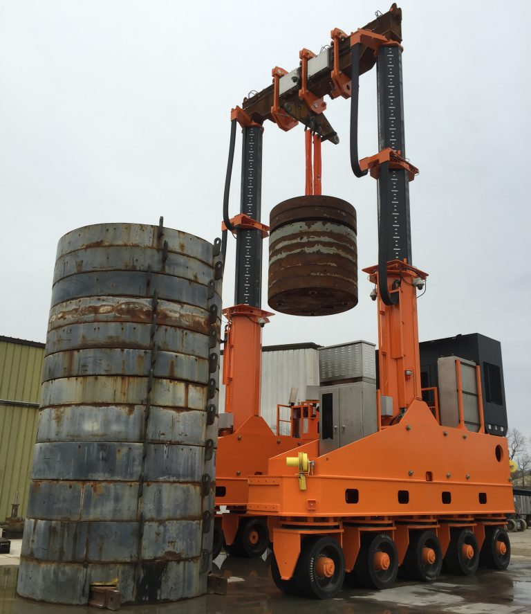 J&R Engineering LIFT-N-LOCK® Transporter - Vertical Cask Transporter Testing