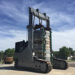 J&R Engineering LIFT-N-LOCK® Transporter - Vertical Cask Transporter Load Test - 5