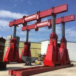 J&R Engineering LIFT-N-LOCK® Hydraulic Gantry - 1400 Series Static Load Test-3