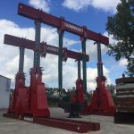 J&R Engineering LIFT-N-LOCK® Hydraulic Gantry - 1400 Series Static Load Test-1